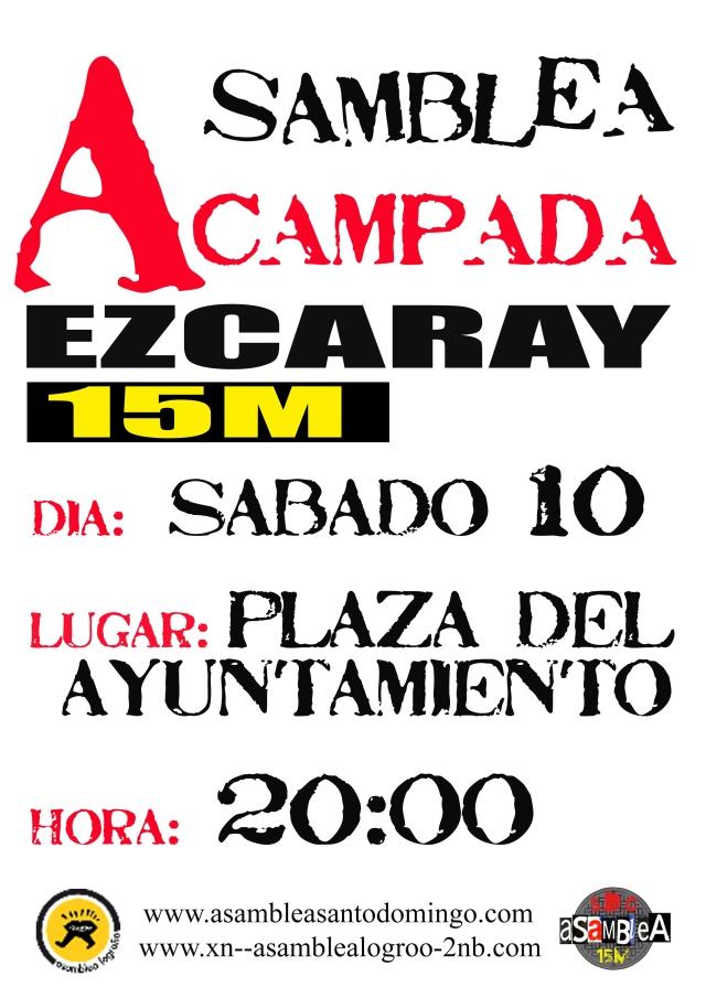 20:00 h., Sábado 10 de Septiembre de 2011 en la Plaza del Ayuntamiento